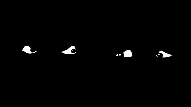 screen czarne na białym