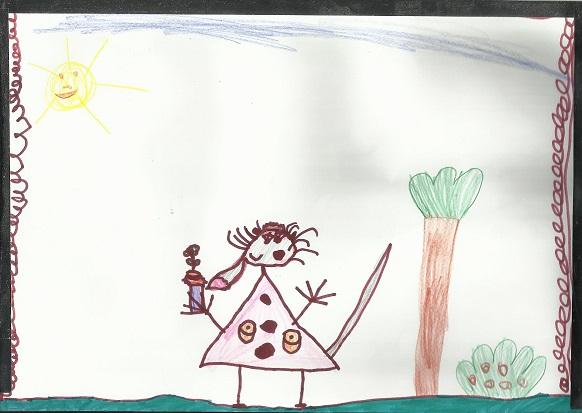 Magdalena Kowalczyk (lat 5)