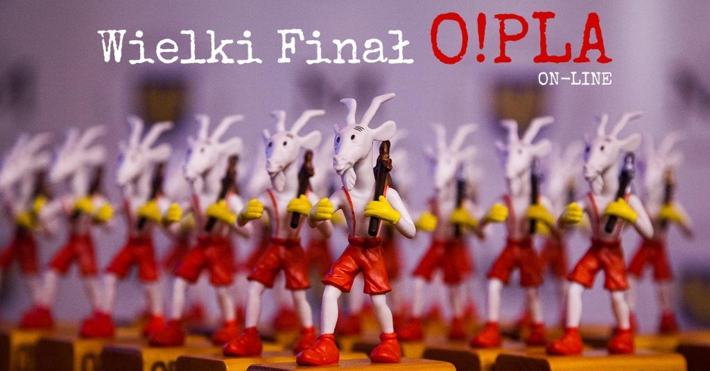 Statuetki O!PLA czyli upragnione przez wielu twórców Tobołki Koziołka Matołka :)